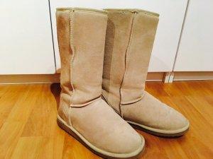 UGG Boots, tall, Sandfarben