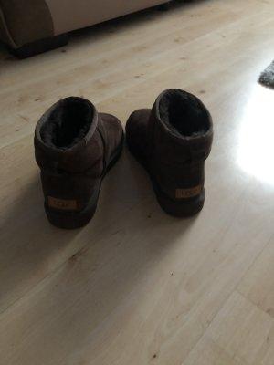 UGG Low boot bronze cuir
