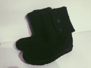 UGG Classic Cardy Boot schwarz *STRICK*