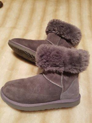Ugg Classic Stiefel Fell Boots Grau Gr. 36