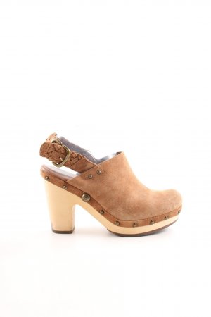 UGG Clog Sandals light orange-brown casual look