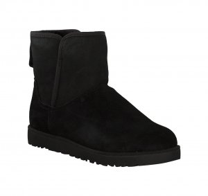 UGG Fur Boots black wool