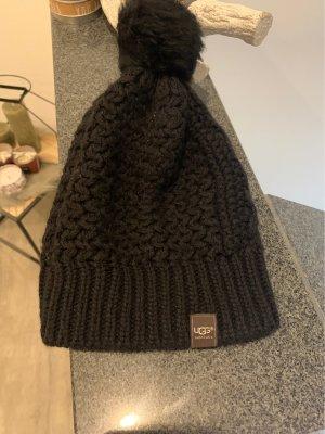 UGG Australia Sombrero de punto negro
