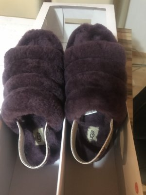 UGG Scuffs brown violet