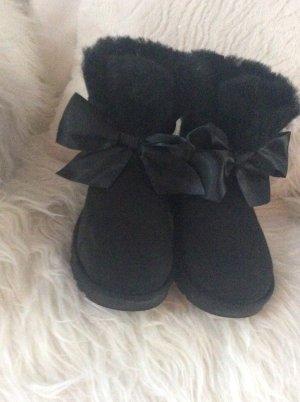 UGG Gita Bow Mini Black Größe 37