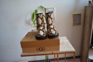 UGG Chelsea Boot doré-brun noir