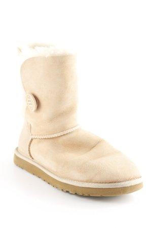 UGG Halfhoge laarzen beige-licht beige pluizig