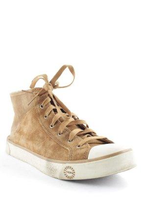 UGG High Top Sneaker braun Casual-Look