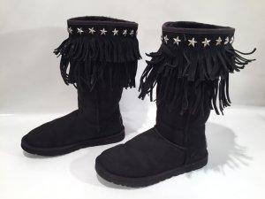 UGG & Jimmy Choo Boots mit Fransen Gr.40