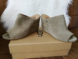 UGG leder Wedges