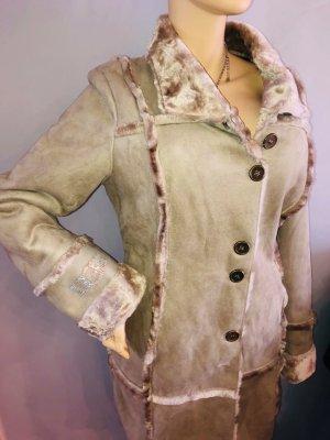 UGG Mantel Jacke in gr XL 40/42 Neu Farbe Beigeb