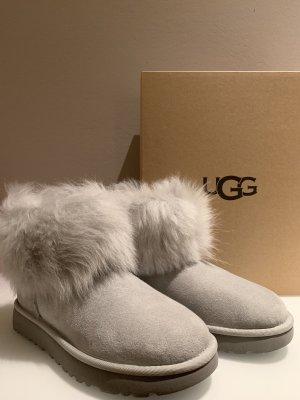 UGG Snow Boots light grey-sage green