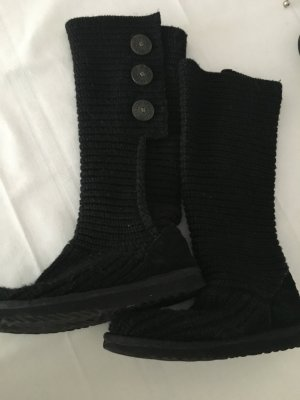 UGG Orginal  Strick Stiefel in schwarz