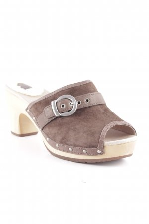 UGG Sandalias para uso en exteriores marrón claro-crema look casual