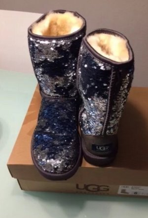 UGG Australia Boots silver-colored-blue