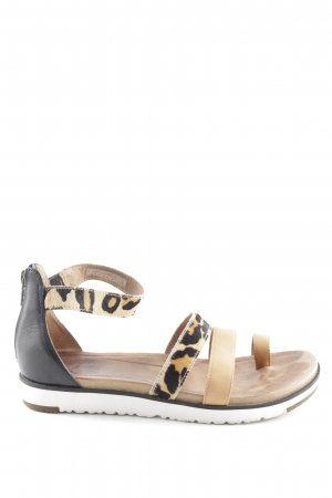 UGG Strapped Sandals leopard pattern extravagant style
