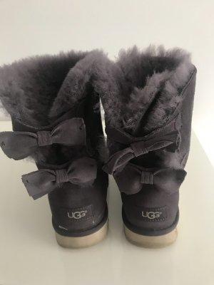 UGG Fur Boots dark grey