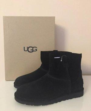 UGG *S/N 1017532* Leder - Stiefel - Boots in Schwarz Gr.39, Neu mit Etikett!