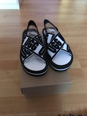 UGG Beach Sandals black-white