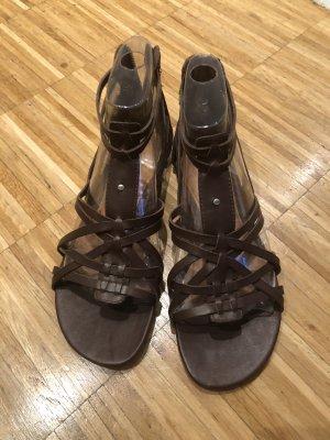 UGG Sandalo con cinturino marrone