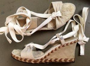 UGG Espadrille sandalen veelkleurig Gemengd weefsel
