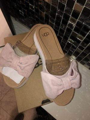 UGG Australia Heel Pantolettes pink