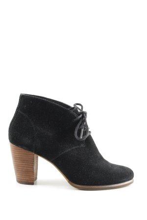 UGG Schnür-Stiefeletten schwarz Elegant