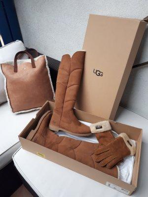 Ugg Set Stiefel,Shopper,Handschuhe