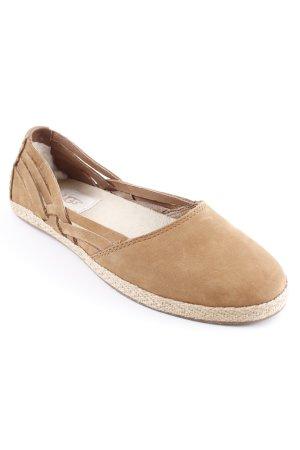 UGG Slipper hellbraun-beige Casual-Look