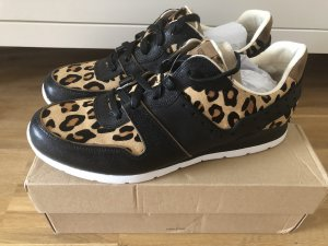 Ugg Sneaker 43 neu Leo Leopard Echtfell Echtleder