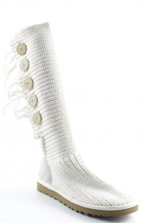 UGG Snow Boots cream casual look
