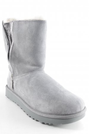 UGG Snow Boots grey-light grey casual look