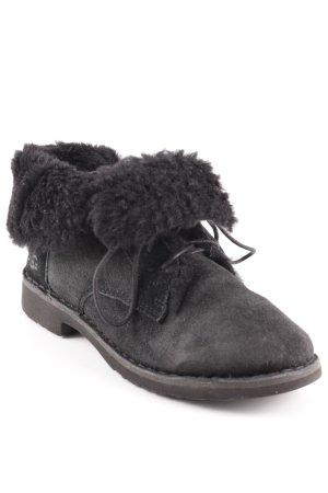 UGG Botas de nieve negro-gris antracita look «Brit»