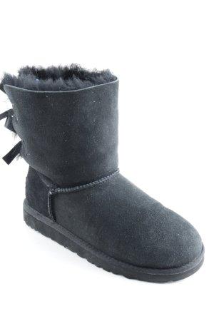 UGG Snow Boots black street-fashion look