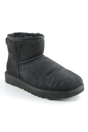 UGG Botas de nieve negro look Street-Style