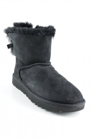 "UGG Botas de nieve ""W Mini Bailey Bow II Black 37"" negro"