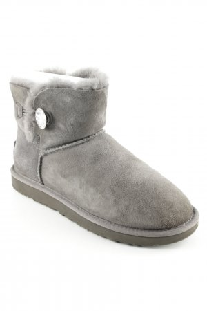 "UGG Snowboots ""W Mini Bailey Button Bling "" grau"