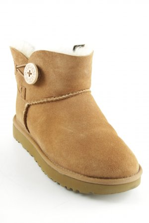 "UGG Botas de nieve ""W Mini Bailey Button II Chestnut"""