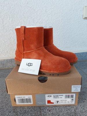 UGG Stiefel/Boots Classic Unlined Gr.38 orange neu