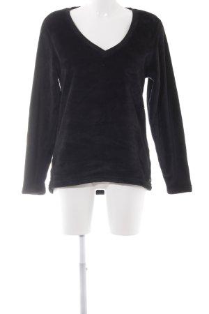 UGG V-Neck Sweater black Logo application (metal)