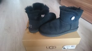 UGG W Mini Bailey Button Bling Black