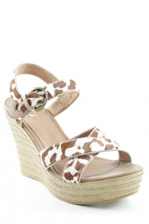 UGG Wedges Sandaletten Animalmuster Animal-Look