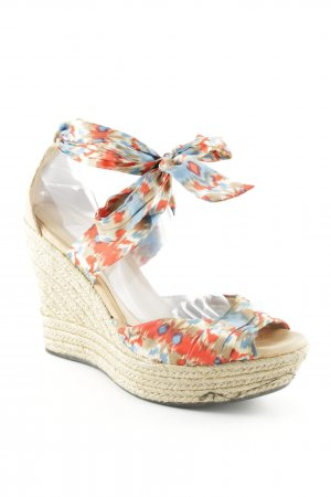 UGG Wedge Sandals ikat pattern Boho look