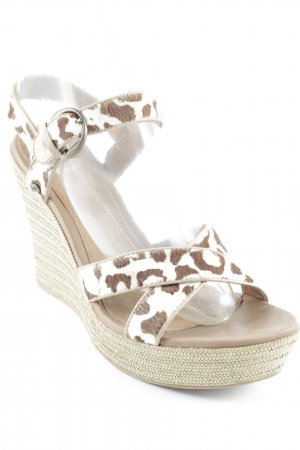 UGG Wedge Sandals leopard pattern extravagant style