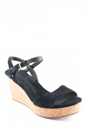 UGG Wedges Sandaletten schwarz Casual-Look