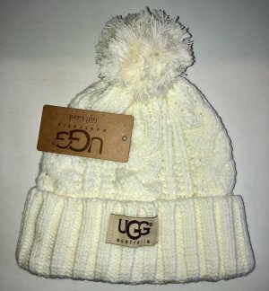 UGG Wintermütze in Farbe Wollweiss Neu