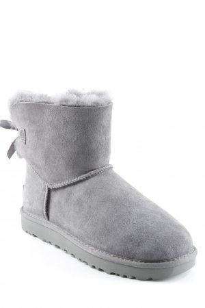 "UGG Winterstiefel ""Mini Bailey Bow II "" anthrazit"