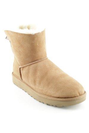 """UGG Botas de invierno """"Mini Bailey Bow II"""" beige"""