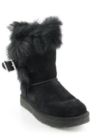 UGG Bottes d'hiver noir style décontracté