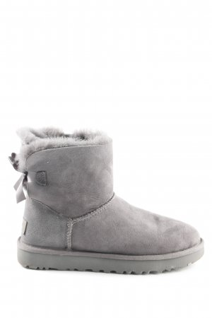 "UGG Winterstiefel ""W Mini Bailey Bow II Grey"" grau"